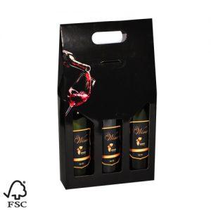 563050 wijndozen wijnverpakking wijnverpakkingen flesverpakking draagkarton